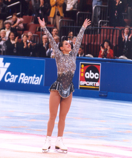Tonia Kwiatkowski at Nationals in 1998