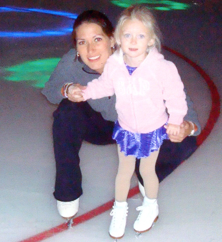 Tonia Kwiatkowski and daughter Madison in 2008