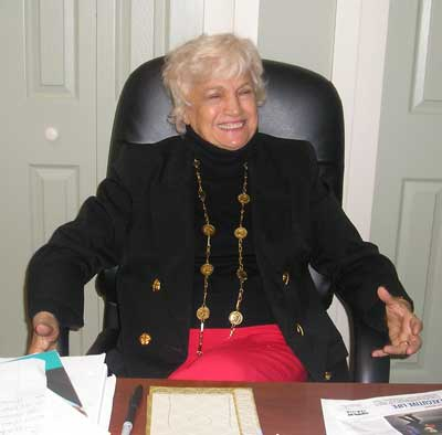 Virginia Marti Veith in 2008 - photo by Debbie Hanson