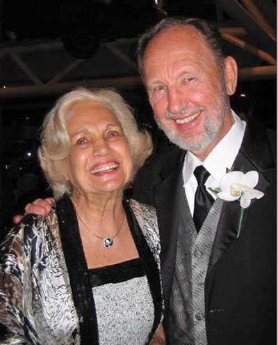 Virginia Marti Veith and Herb Veith at the 40th anniversary celebration of the Virginia Marti College of Art and Design